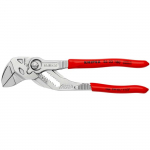 KNIPEX 86 03 180 Pliers Wrench Pliers and a wrench in a single tool plastic coated chrome plated 180 mm